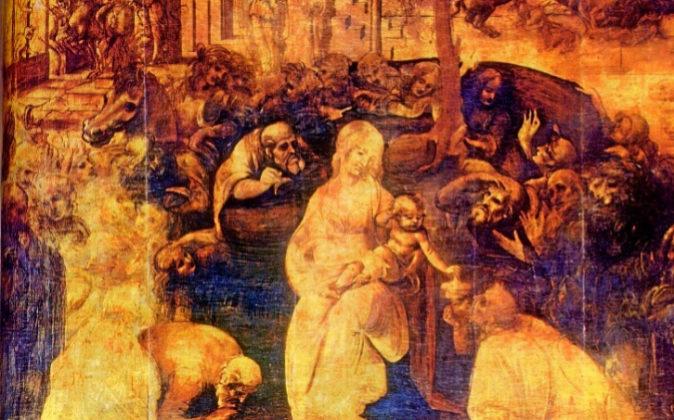 'La Adoración de los Magos' fue un encargo que Leonardo...