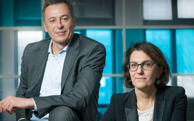 Nathalie Balla y Éric Courteille, copresidentes de La Redoute.