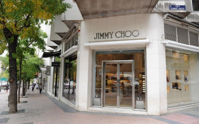 Tiendas de la milla de oro de Madrid, calle Ortega y Gasset. Tienda de...