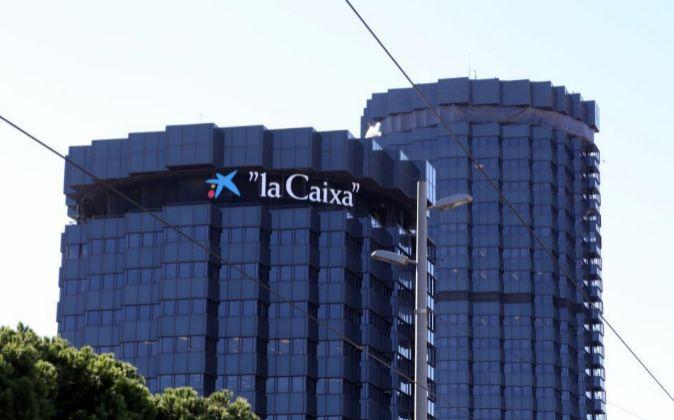Sede de La Caixa y Caixabank en Barcelona.