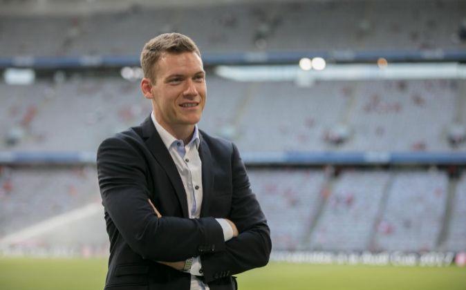 Thomas Glas, antes futbolista profesional, es ahora el máximo...