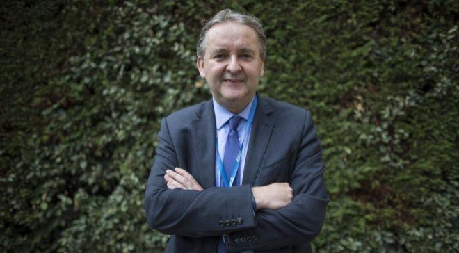 Dirk Pilat, director adjunto de la Dirección de Ciencia, Tecnología...