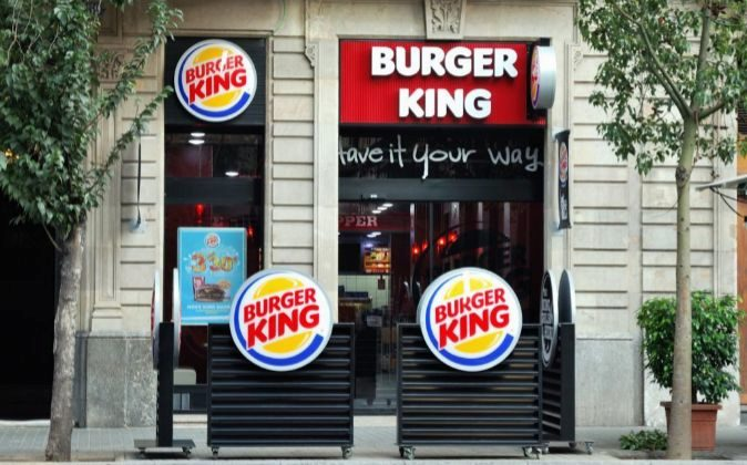 Local de Burger King.