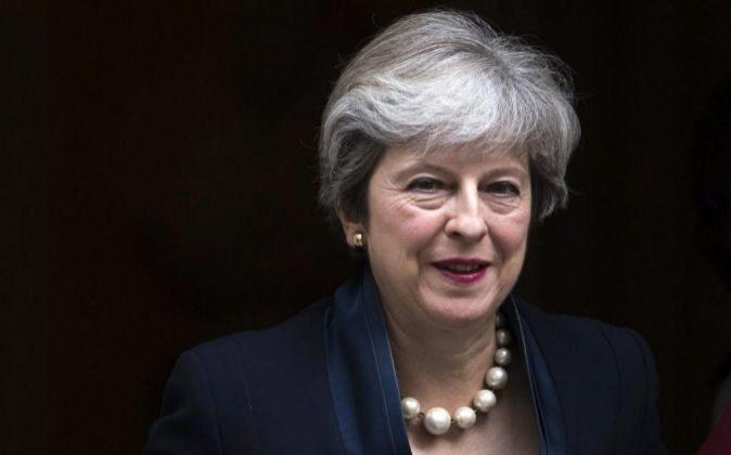 La primera ministra de Reino Unido, Theresa May.