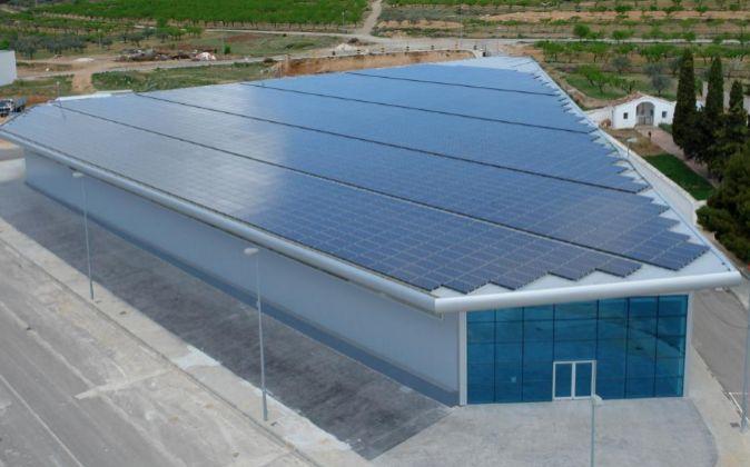 Factoría de Power Electronics en Higueruelas.