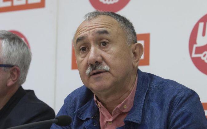 Secretario General de UGT, Pepe Álvarez