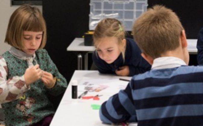 Talleres para niños en la Fundación Telefónica
