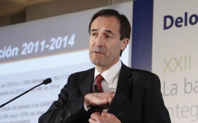 Manuel Menéndez, consejero delegado de Liberbank.