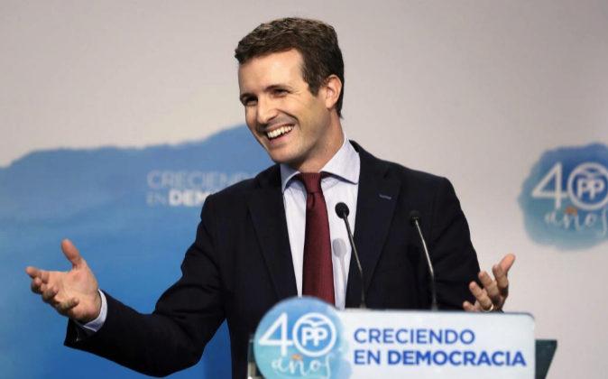 El vicesecretario general de Comunicación del Partido Popular Pablo...