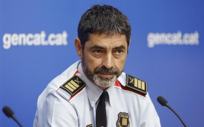 El mayor de los Mossos d'Esquadra, Josep Lluís Trapero.
