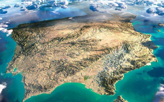 MAPA DE ESPAÑA EN 3D