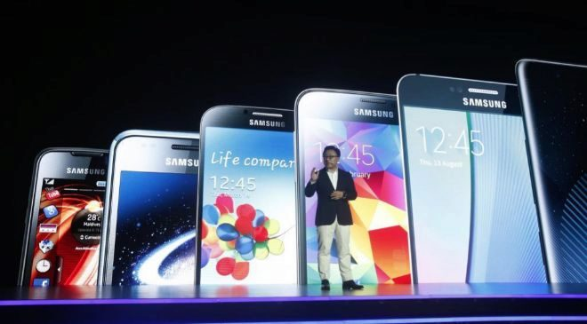 El presidente de Samsung Electronics Mobile, Koh Dong-Jin, durante la...