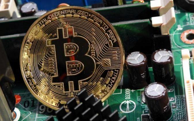 Recreación de un bitcoin dentro de un ordenador
