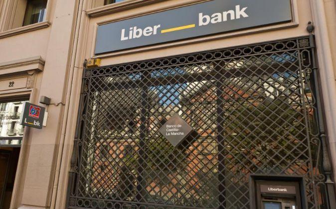 Sucursal de Liberbank en Madrid