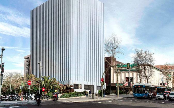 Torre Serrano, en la calle Serrano de Madrid.