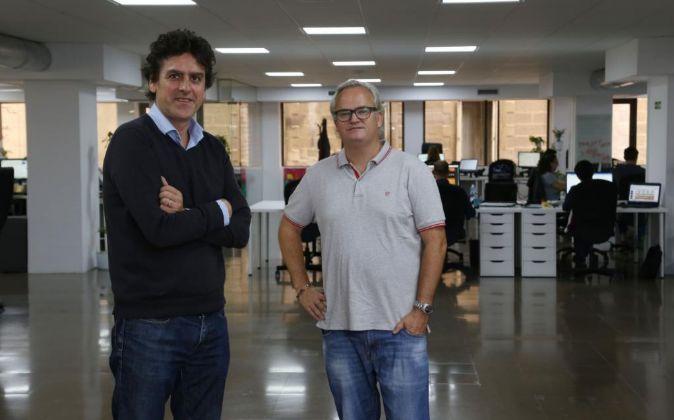 Pablo Fernández-Valdés y Patrick Landman, socios fundadores de...