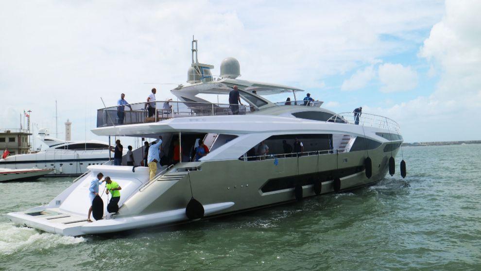 La embarcación Amers Unique, de 33,5 metros, que incorpora el sistema...