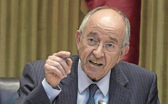 Miguel Ángel Fernández Ordóñez era gobernador del Banco de España...