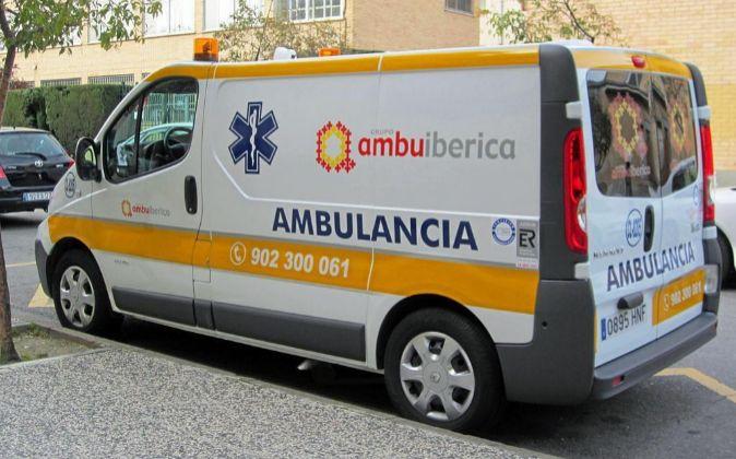 Ambulancia de Ambuibérica.