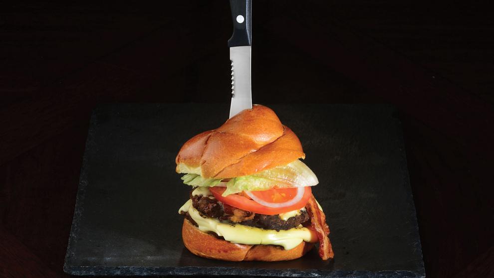 Gourmet Burger Knife cuchillos para hamburguesas