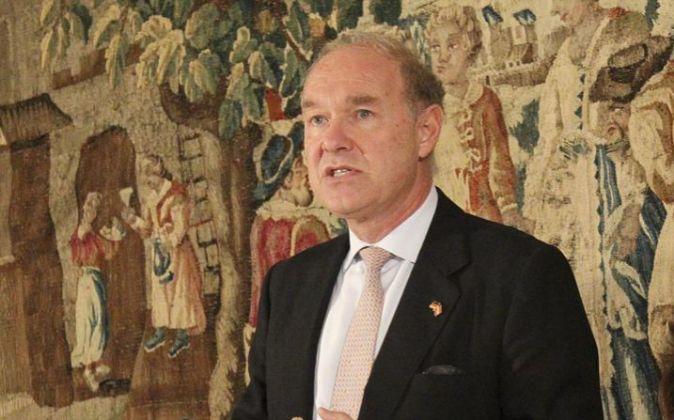 Albert Peters, presidente del Círculo de Directivos de Habla Alemana,...