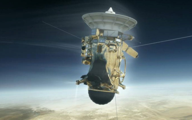 Fotografía de archivo sin fecha cedida por la NASA, muestra una...
