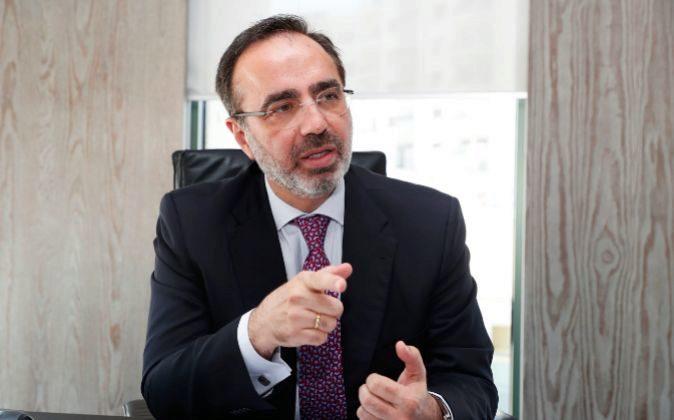 Andrés Romero, director general de Santalucía