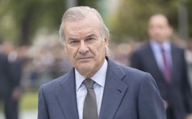 Rodrigo Echenique, presidente de Popular y de Santander España.
