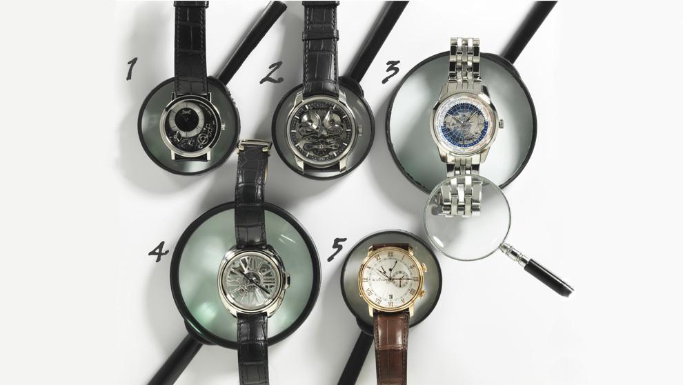 Relojes como objetos de lujo