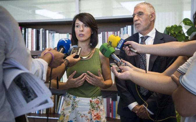Consejera de Educación y Empleo de la Junta de Extremadura, Esther...