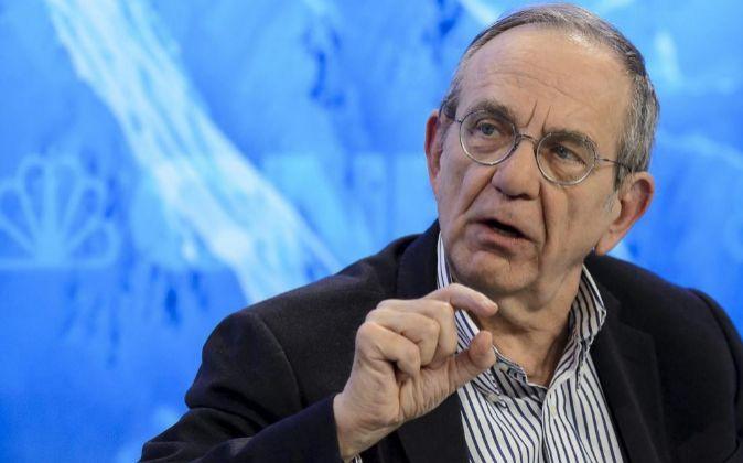El ministro de Finanzas italiano, Pier Carlo Padoan.