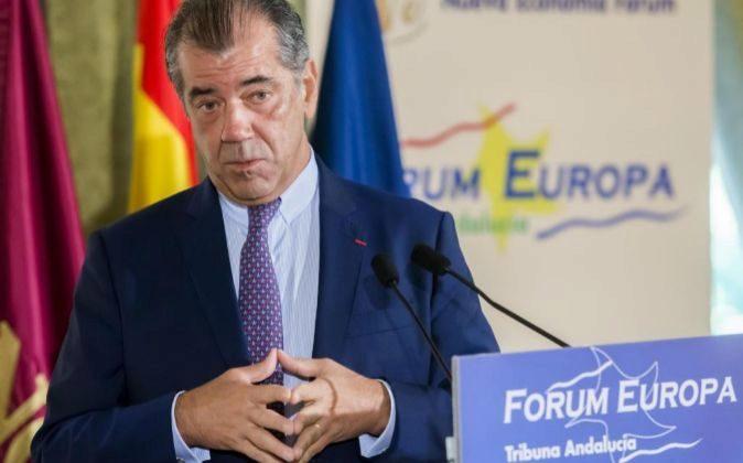 Fernando Alonso, presidente de Airbus España, ayer, en Sevilla.