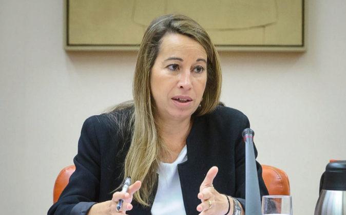 La secretaria de Estado de Función Pública, Elena Collado, en una...