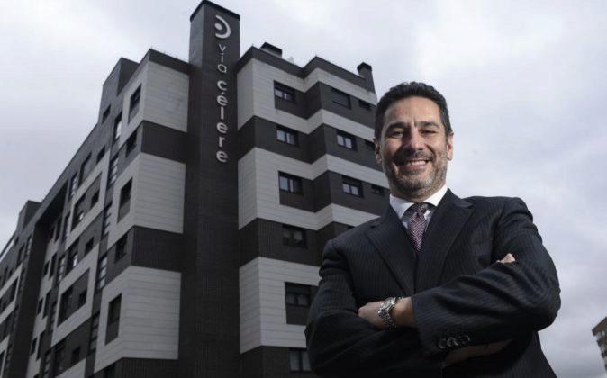 Juan Antonio Gómez Pintado, presidente de Vía Célere.