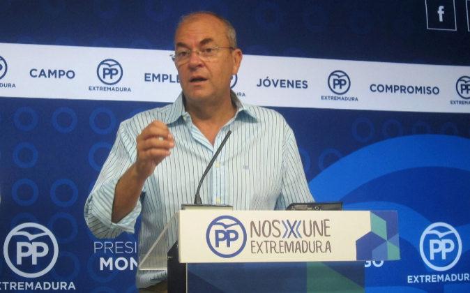 José Antonio Monago, presidente del PP Extremadura.