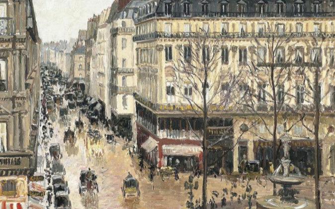 'Calle St Honore a media tarde efecto de lluvia', de Camille...