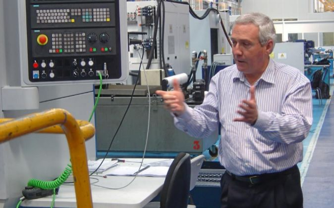 Íñigo Ucín es el presidente de la corporación cooperativa...