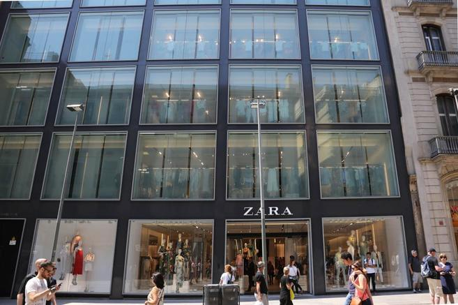 Tienda de Zara, principal enseña del grupo Inditex.