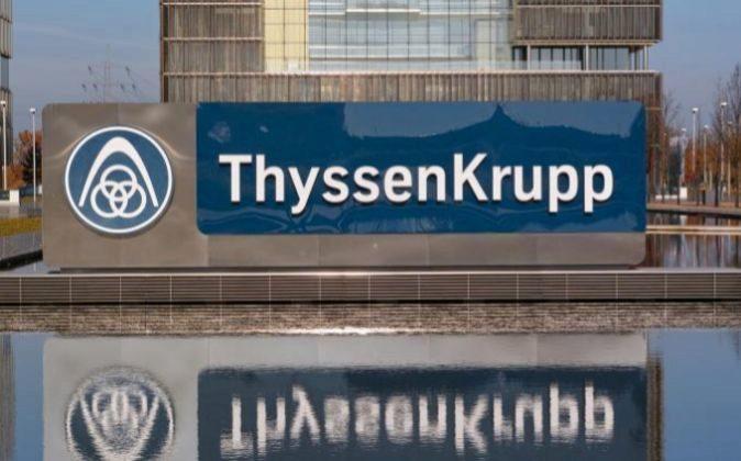 Oficinas de ThyssenKrupp en Essen, Alemania.