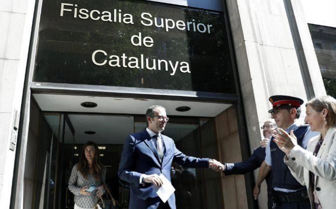 El alcalde de Mollerusa (Lleida) y diputado en el Parlament Marc...