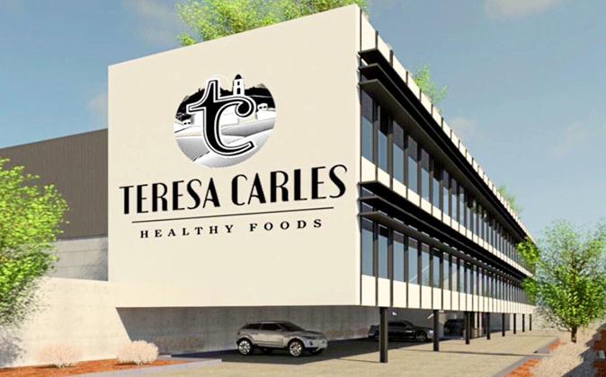 Imagen virtual de la futura sede del grupo Teresa Carles en Bell-Lloc...