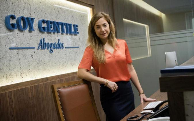 Lucía Goy Mastromiechele, socia fundadora y directora de Goy Gentile...