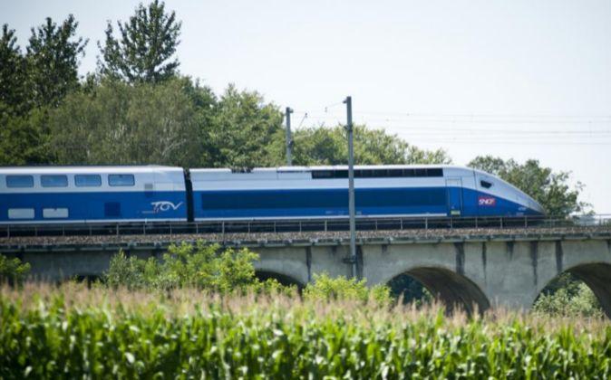 Tren de Alstom.