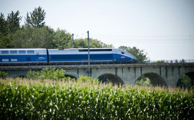 Tren Euroduplex de Alstom en Francia.