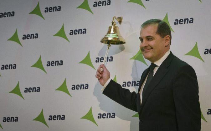 El presidente de Aena José Manuel Vargas.