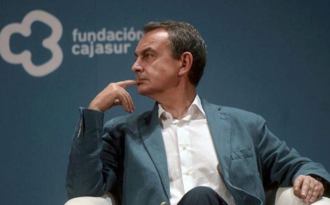 El expresidente del Gobierno, Jose Luis Rodríguez Zapatero.