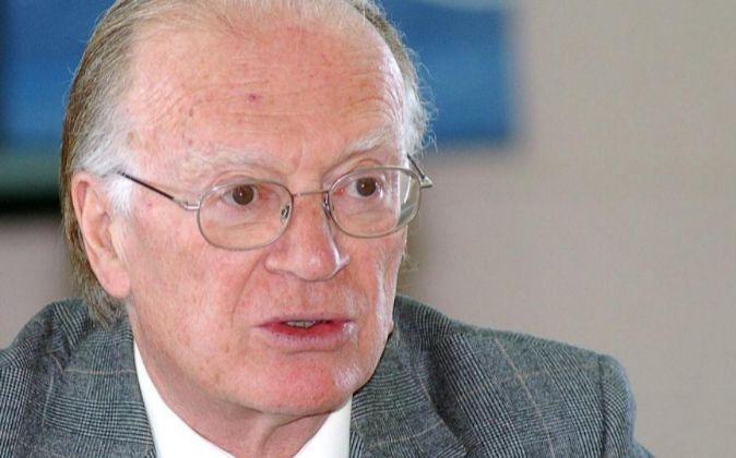 El presidente de la Fundación Alternativas, Nicolás Sartorius, es...