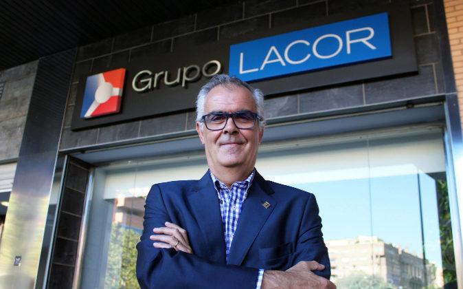 El presidente del Grupo Lacor,  Ángel Adiego.