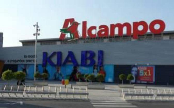 Centro comercial de Alcampo.
