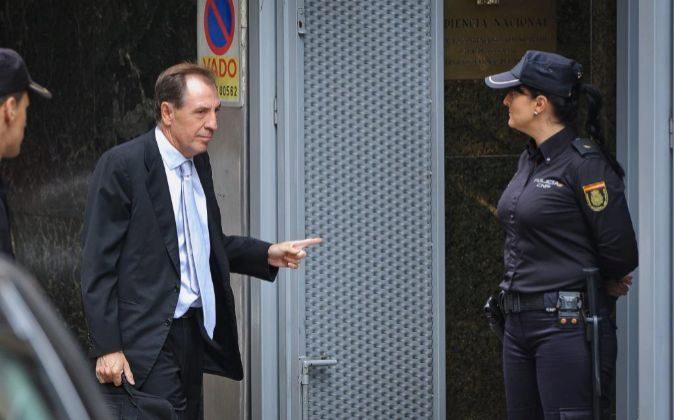 Ildefonso sánchez Barcoj, exdirectivo de Caja Madrid.